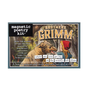 Brothers Grimm - Fridge Magnet Set - Fridge Poetry Thumbnail 1