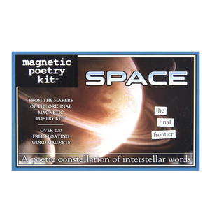 Space - Fridge Magnet Set - Fridge Poetry Thumbnail 1