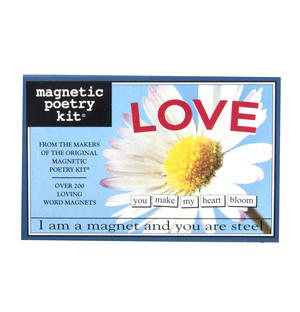 Love - Fridge Magnet Set - Fridge Poetry Thumbnail 1