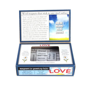 Love - Fridge Magnet Set - Fridge Poetry Thumbnail 3
