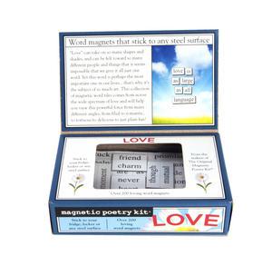 Love - Fridge Magnet Set - Fridge Poetry Thumbnail 3