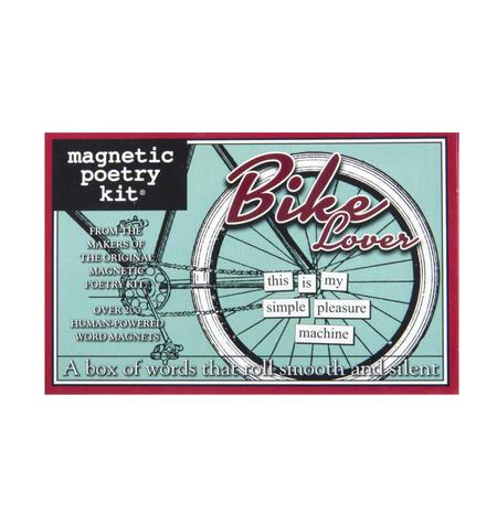 Bike Lover - Fridge Magnet Set - Fridge Poetry