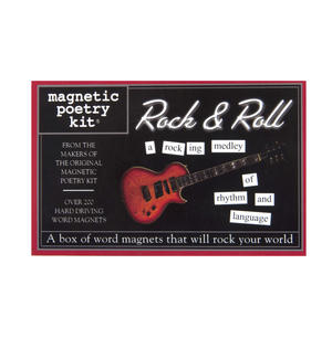 Rock n Roll - Fridge Magnet Set - Fridge Poetry Thumbnail 1