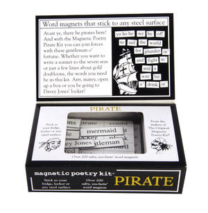Pirate - Fridge Magnet Set - Fridge Poetry Thumbnail 3