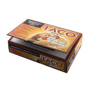 Taco Poet - Fridge Magnet Set - Fridge Poetry Thumbnail 2