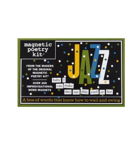 Jazz - Fridge Magnet Set - Fridge Poetry