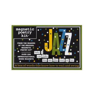 Jazz - Fridge Magnet Set - Fridge Poetry Thumbnail 1