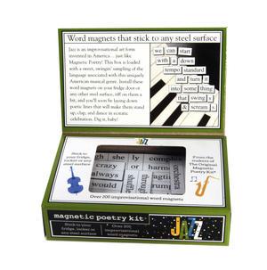Jazz - Fridge Magnet Set - Fridge Poetry Thumbnail 3