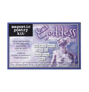 Goddess Lover - Fridge Magnet Set - Fridge Poetry Thumbnail 1