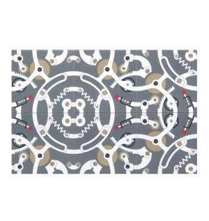 Gears - Fridge Magnet Set - Fridge Pattern Design Thumbnail 2