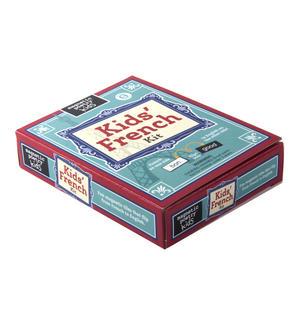 Kids French Fridge Magnet Poetry Set - Fridge Poetry Thumbnail 2