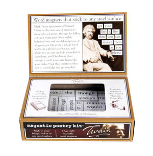 Mark Twain  - Fridge Magnet Set - Fridge Poetry Thumbnail 3