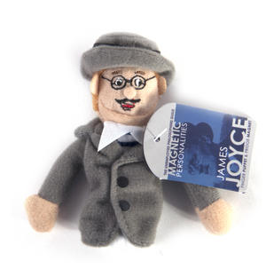 James Joyce Finger Puppet & Fridge Magnet Thumbnail 2