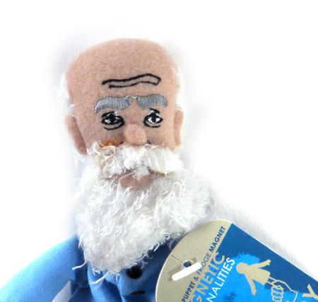 Leo Tolstoy Finger Puppet & Fridge Magnet