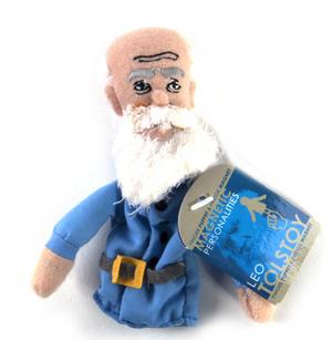 Leo Tolstoy Finger Puppet & Fridge Magnet Thumbnail 2