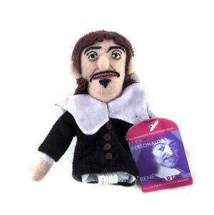 René Descartes Finger Puppet & Fridge Magnet Thumbnail 2