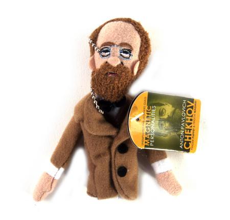 Anton Chekhov Finger Puppet & Fridge Magnet