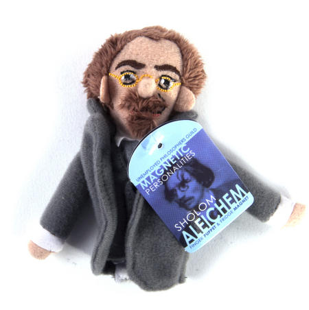 Sholom Aleichem Finger Puppet & Fridge Magnet