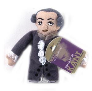 Immanuel Kant Finger Puppet & Fridge Magnet Thumbnail 2