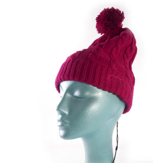 Headphone Bobble Hat