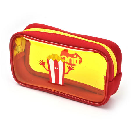 Popcorn (Yellow) Tasty Tincs PVC Pencil Case