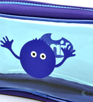 Blueberry (Blue) Tasty Tincs PVC Pencil Case Thumbnail 2