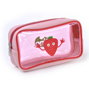 Strawberry (Red) Tasty Tincs PVC Pencil Case Thumbnail 1
