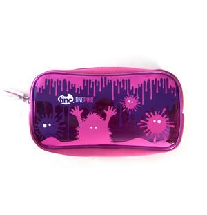 Splash (Pink / Purple) PVC Pencil Case by Tinc Thumbnail 2
