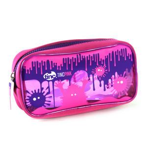 Splash (Pink / Purple) PVC Pencil Case by Tinc Thumbnail 4