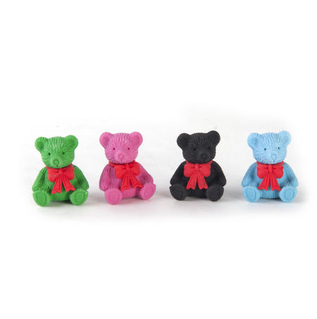 Teddy Bears Erasers Collection by Tinc