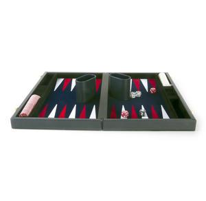 "Attaché Backgammon - Classic 15"" Oxford Blue in an Attaché Case Thumbnail 4"