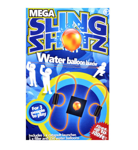 Mega Sling Shotz - Water Balloon Launcher