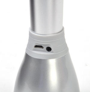 Silver Microphone Speaker - Sing Like a Rockstar Thumbnail 7