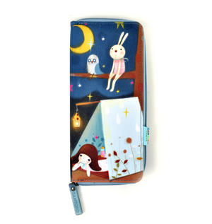 Starry Night - Kori Kumi Neoprene Pencil & Accessory Case Thumbnail 1