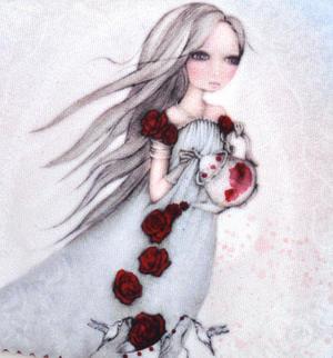 Rose Tea - Mirabelle Neoprene Accessory Case Thumbnail 2
