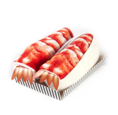 Shrimp / Crevette - Sushi Socks