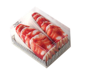 Shrimp / Crevette - Sushi Socks Thumbnail 3