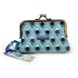 """Miss Peacock - 5"""" Clasp Purse By Mirabelle Thumbnail 2"""
