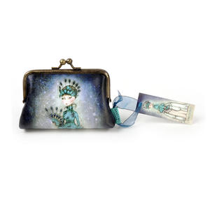 """Miss Peacock - 5"""" Clasp Purse By Mirabelle Thumbnail 4"""