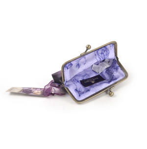 "Amethyst Butterfly - 5"" Clasp Purse By Mirabelle Thumbnail 6"