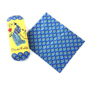Frida Kahlo Peacock Glasses Case and Lens Cloth Set Thumbnail 4