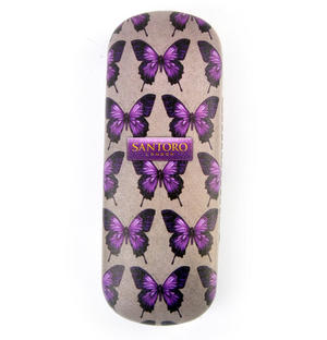 Amethyst Butterfly  Glasses Case by Mirabelle Thumbnail 4