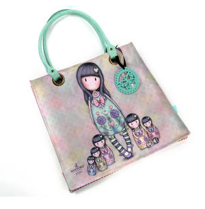 Seven Sisters - Large Coated Shopper Bag By Gorjuss Thumbnail 1