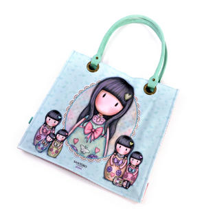 Seven Sisters - Large Coated Shopper Bag By Gorjuss Thumbnail 3