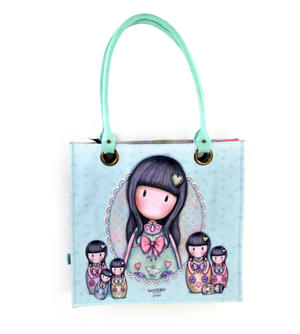 Seven Sisters - Large Coated Shopper Bag By Gorjuss Thumbnail 6
