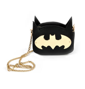 Batman Gotham Gold Cross Body Bag Thumbnail 1