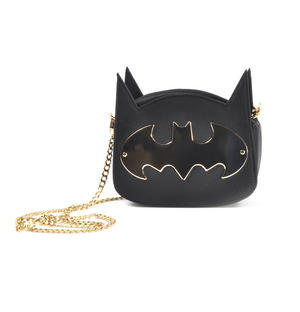 Batman Gotham Gold Cross Body Bag Thumbnail 2