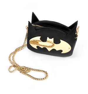 Batman Gotham Gold Cross Body Bag Thumbnail 3
