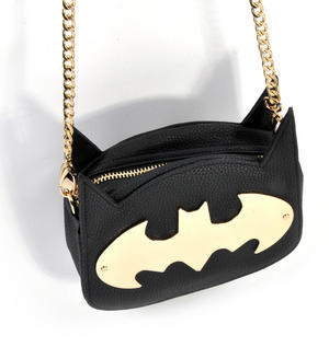Batman Gotham Gold Cross Body Bag Thumbnail 5