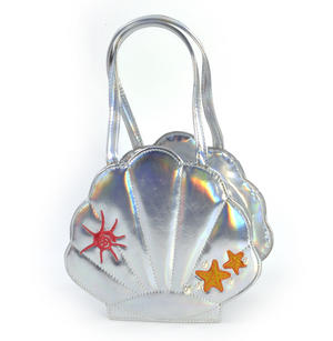Silver Pearl Mermaid Hand Bag Thumbnail 4
